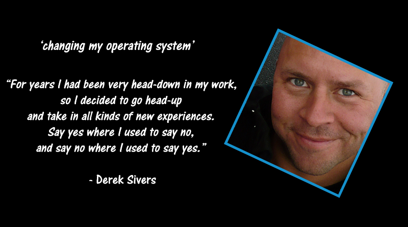 derek sivers changes his operating system